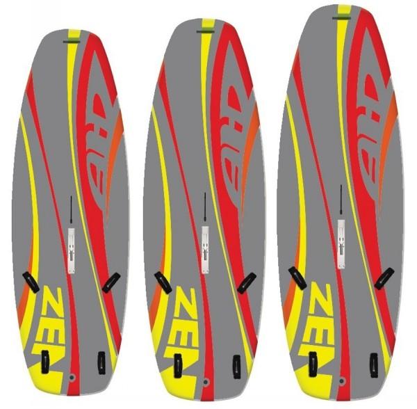AHD Zen Windsurf Board - Full EVA deck - Dagger Board
